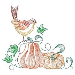 Autumn Charm embroidery design