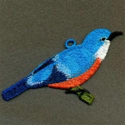 FSL Birds On Branch embroidery design