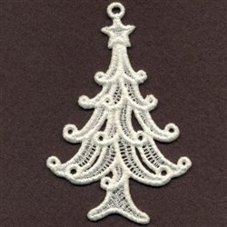 FSL Filigree Christmas 3 embroidery design