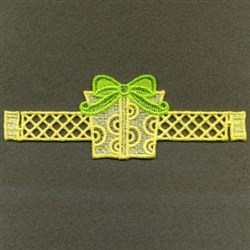 FSL Christmas Napkin Rings embroidery design
