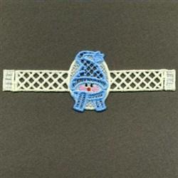 FSL Christmas Napkin Rings embroidery design