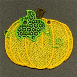 FSL Fall Pumpkin embroidery design