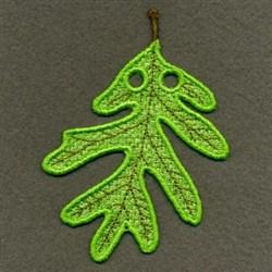 FSL Fall Leaf embroidery design
