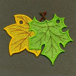 FSL Fall Leaves embroidery design