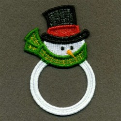 FSL Christmas Rings embroidery design