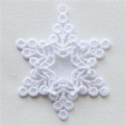 FSL Snowflake Ornaments embroidery design