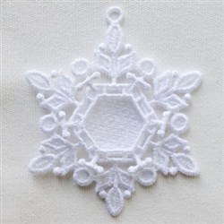 FSL Snowflake  Ornaments embroidery design