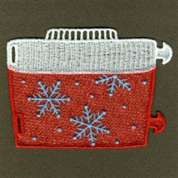 FSL Christmas Silverware Holders embroidery design