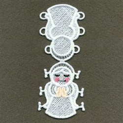 FSL Christmas Finger Puppets embroidery design