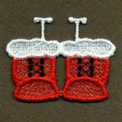 FSL Santas Boots embroidery design
