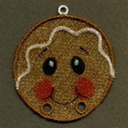 FSL Gingerbread Hanger embroidery design