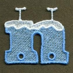 FSL Snow Hanger embroidery design