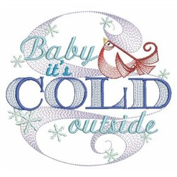 Winter Sayings embroidery design