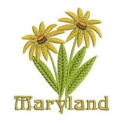 maryland state flower embroidery designs machine embroidery designs
