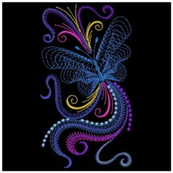 Neon Butterflies Embroidery Designs Machine Embroidery #2: ape1500 002
