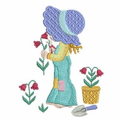 Garden Girl Embroidery Designs Machine Embroidery Designs