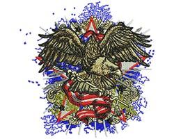 American Eagle Fashion embroidery design