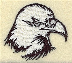 American Eagle Head embroidery design