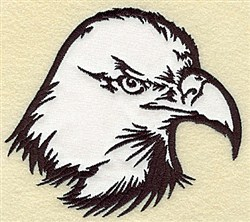 American Eagle Applique embroidery design
