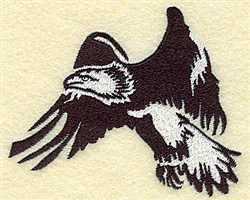 American Eagle embroidery design