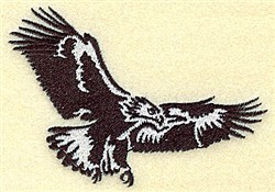 Eagle Soaring embroidery design