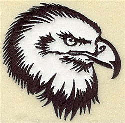 Bald Eagle Applique embroidery design