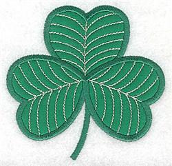Shamrock  Applique embroidery design