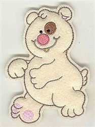 Feltie Bear embroidery design