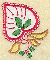 Christmas Paisley embroidery design