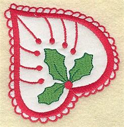 Christmas Paisley design B embroidery design