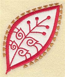 Festive Paisley embroidery design