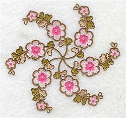 Pink Petals embroidery design