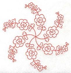 Flower Petals embroidery design