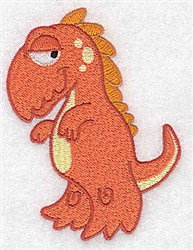 Adorable Dinosaur embroidery design