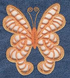 Swallowtail Cutwork embroidery design