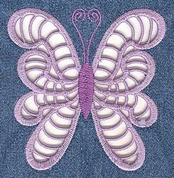 Elegant Cutwork Butterfly embroidery design