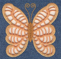 Wings Cutwork embroidery design
