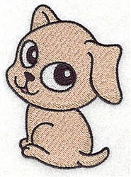 Sweetest Puppy embroidery design