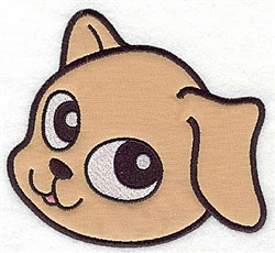 Sweet Pup Applique embroidery design