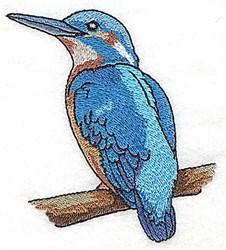 Silhouette Bird embroidery design