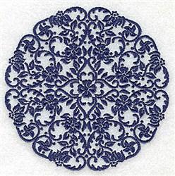 Artistic Circle embroidery design