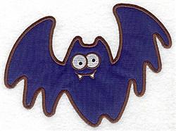 Bat Applique embroidery design