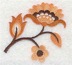 Lovely Flowers embroidery design