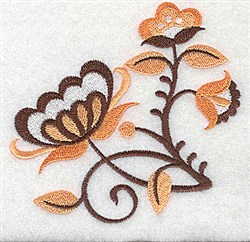 Lovely Jacobean embroidery design
