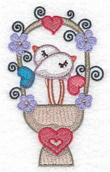 Hearts & Birds embroidery design
