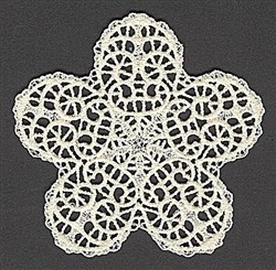 FSL Star embroidery design
