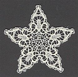 FSL Lace Star embroidery design