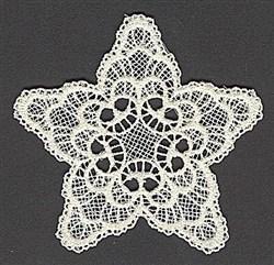 FSL Star Decor embroidery design