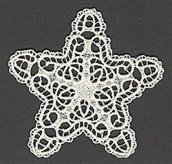 FSL Delicate Star embroidery design