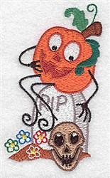 Pumpkinhead embroidery design